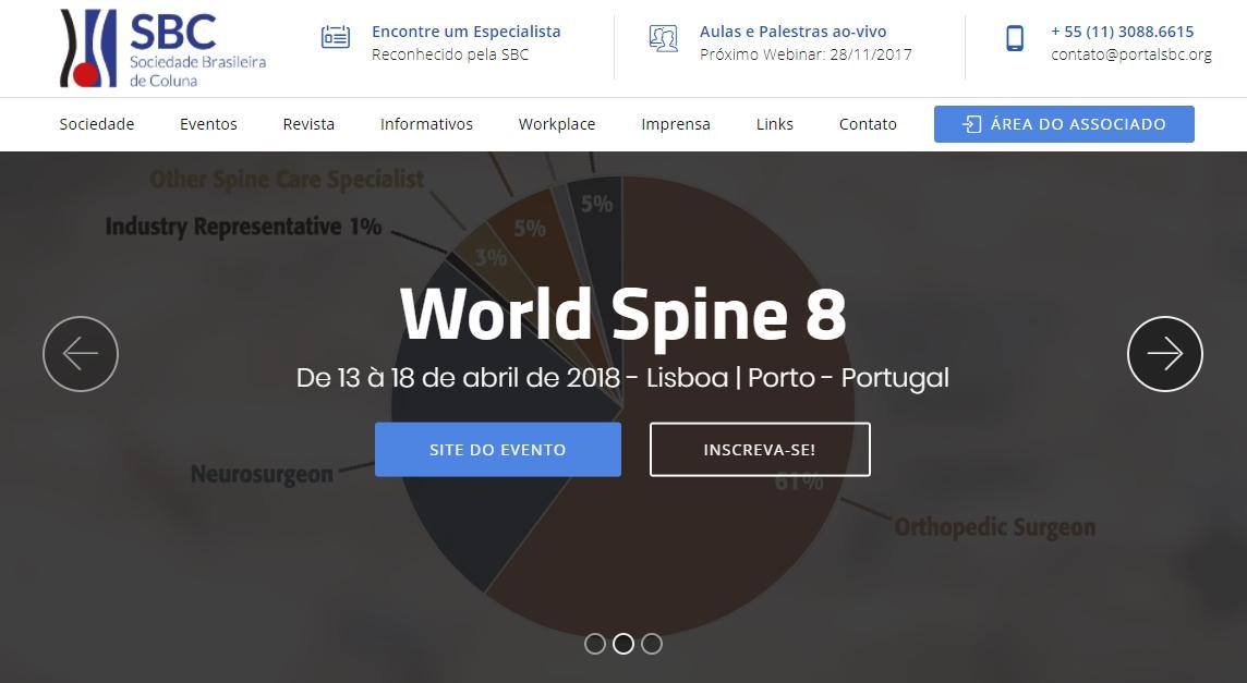 SBC lança Novo portal