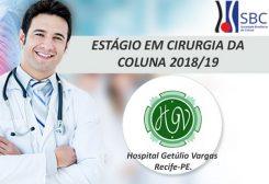 Estágio em Cirurgia da Coluna 2018/19 – Hospital Getúlio Vargas – Recife/PE