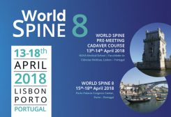 World Spine 8 | Pre-Meeting Cadaver Course (13-18th April / 2018 | Lisbon Porto / Portugal)