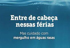 SBOT lança campanha sobre riscos de mergulhar em águas rasas